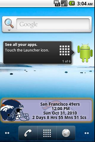 Denver Broncos Countdown Android Sports