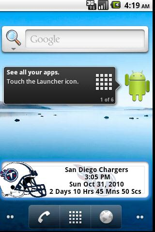 Tennessee Titans Countdown Android Sports