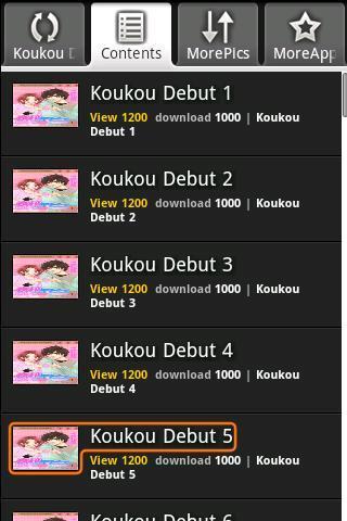 Koukou Debut Koukou Debut Android Comics