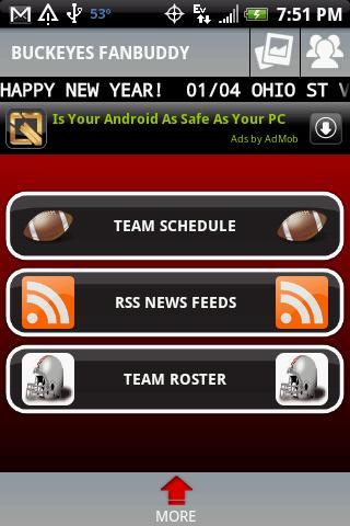 Buckeyes Football FanBuddy Android Sports