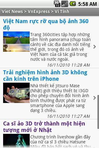 Viet News Android News & Magazines