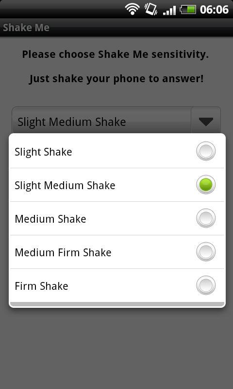 Shake Me Android Tools