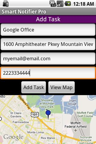 Location Notifier Lite Android Travel & Local