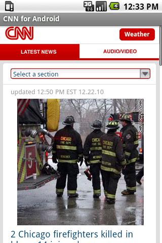 CNN News for Android Android News & Magazines