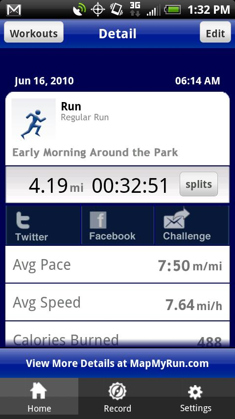 iMapMyRun+ Android Health & Fitness