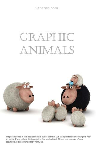 3D Graphics Animals Wallpapers Android Personalization