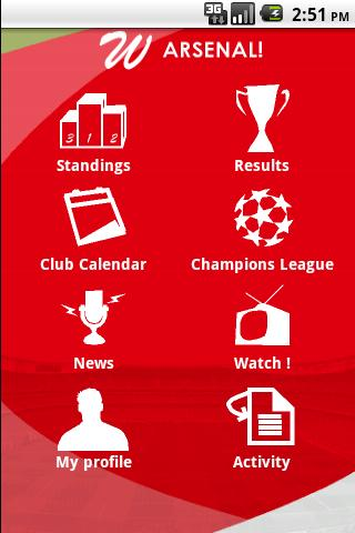 Watch Arsenal ! Android Sports