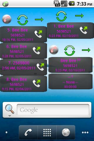Home Screen Call Logs Android Communication