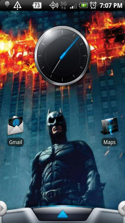 Batman: Official Theme Android Personalization