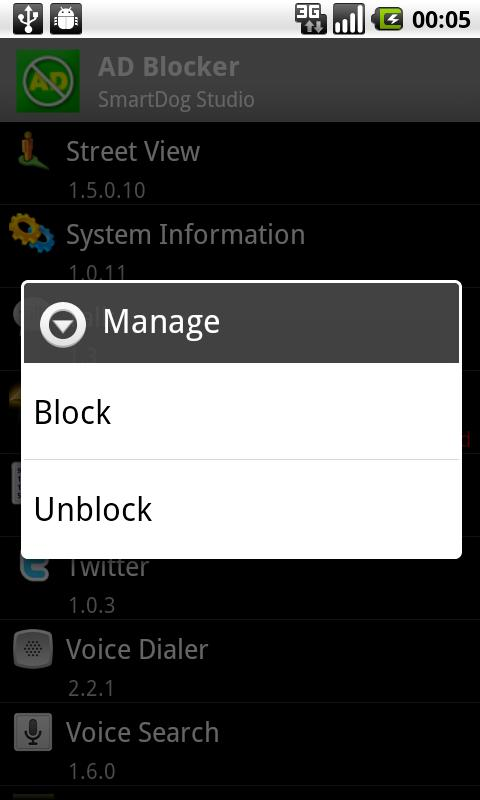 AD Blocker Trial Android Business
