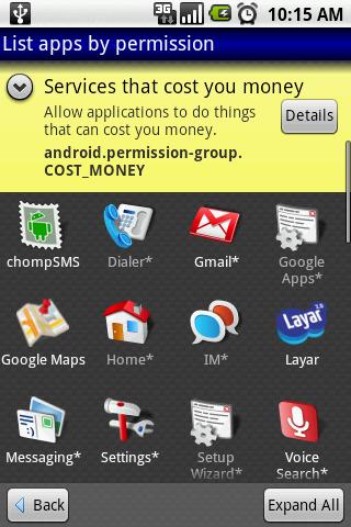 aSpotCat (app by permission) Android Tools