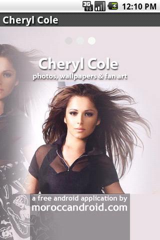 Cheryl Cole photos Android Entertainment