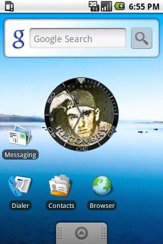 Eminem Recovery Clock Widget Android Personalization