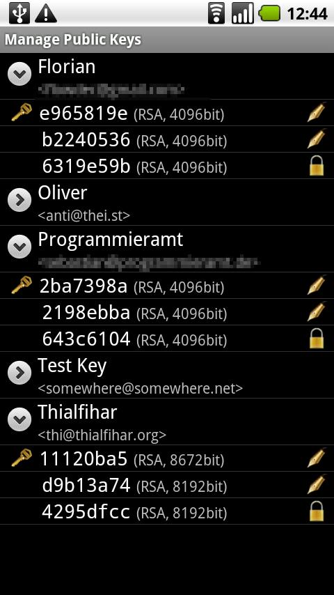 APG Android Communication
