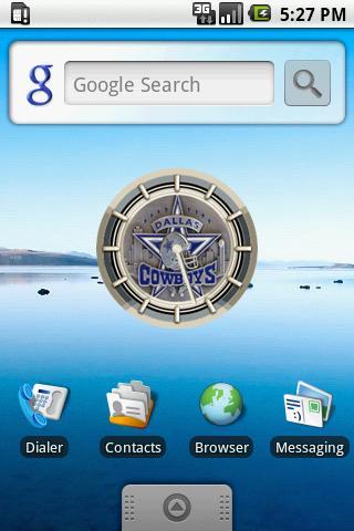 DALLAS COWBOYS Alarm Clock Android Personalization