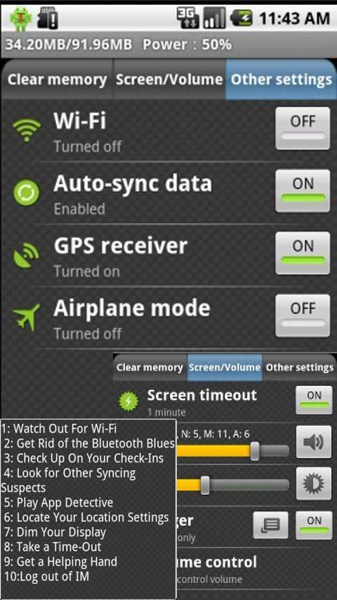 Battery Improver Android Tools