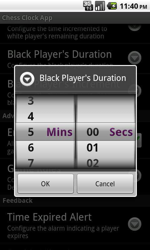 Chess Clock App Android Entertainment