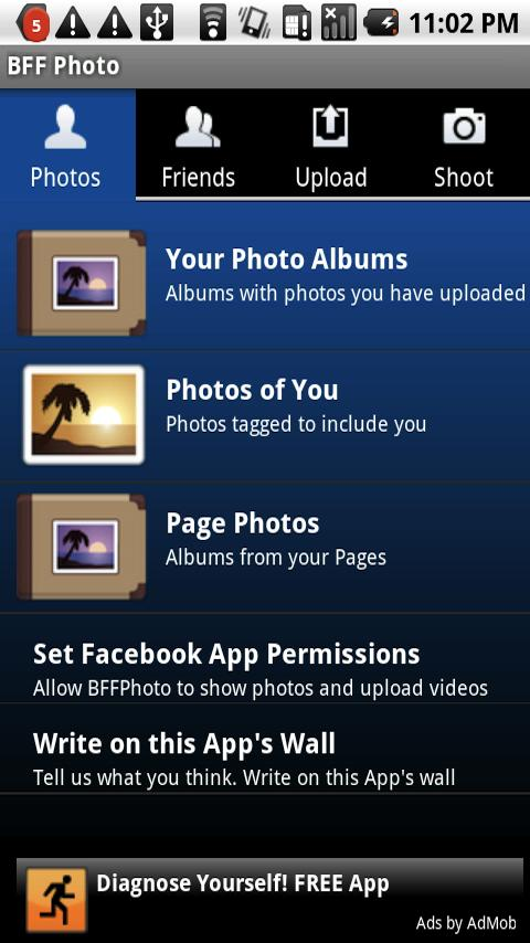 BFF Photo – Facebook Upload Android Social