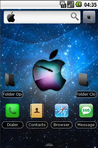 Best HD Iphone 4 Theme 2 Android Personalization
