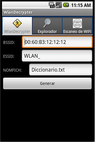 WlanDecrypter Android Tools