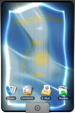 KAZAKHSTAN LIVE FLAG Android Media & Video