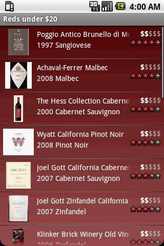 Swirl – A Wine Guide Android Lifestyle