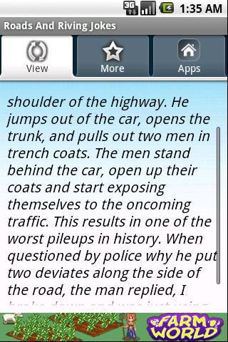 Roads And Riving Jokes Android Sports