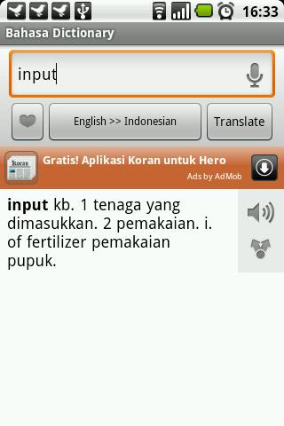 Bahasa Dictionary Android Books & Reference
