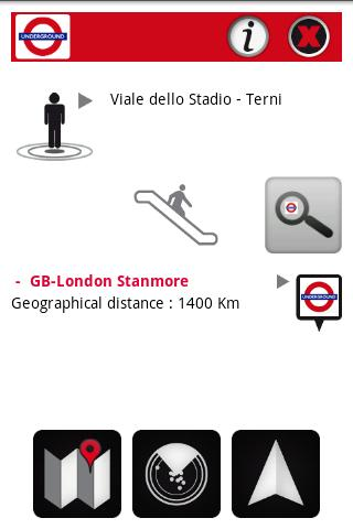 London Tube Augmented Reality Android Travel & Local