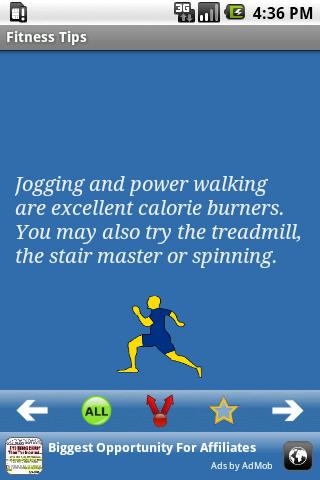 Fitness Tips Android Health & Fitness