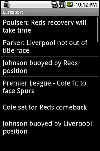 TeamReader – Liverpool Android Sports