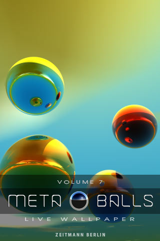 Live Wallpapers METABALLS 7 Android Lifestyle