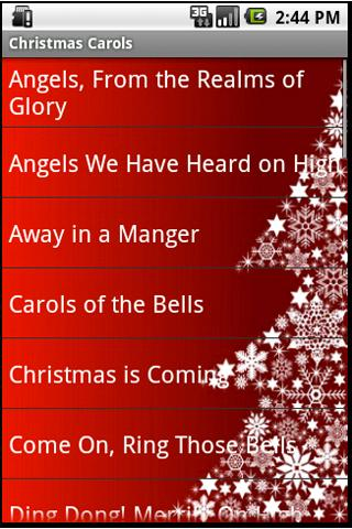 Christmas Carols Android Entertainment