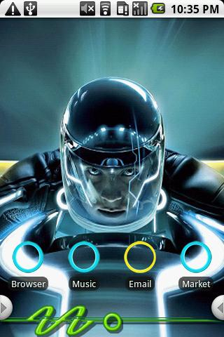 Tron the Legacy Android Entertainment