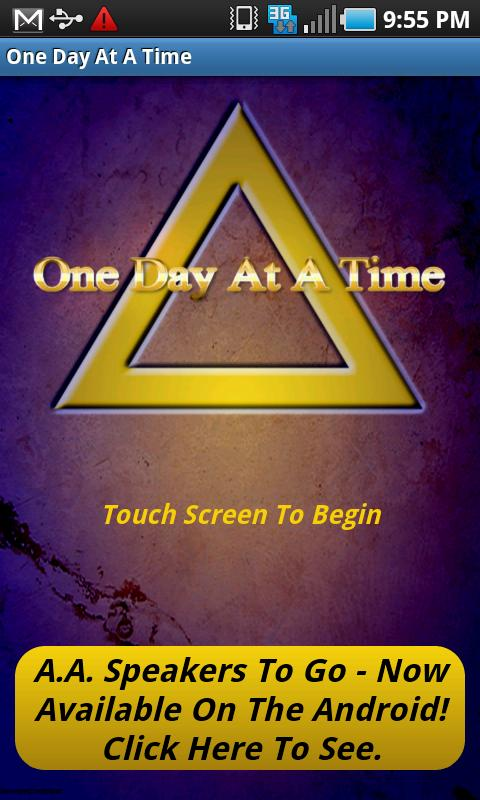 One Day At A Time Android Lifestyle