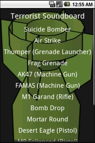 Terrorist Soundboard Android Entertainment