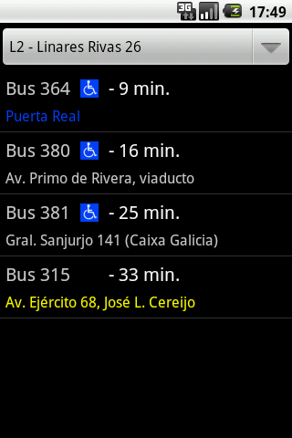 Bus Coruña Android Travel & Local