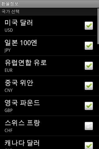 Currency Android Finance