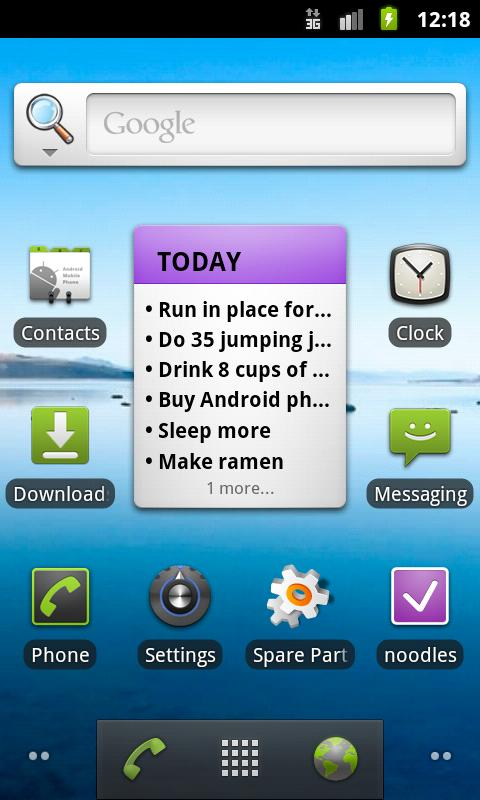noodles – ToDo List Android Productivity
