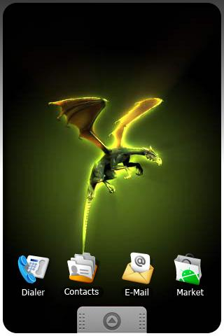 DRAGON live wallpaper app LIVE Android Lifestyle