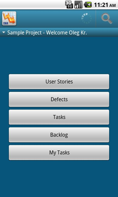 AndScrum Android Business
