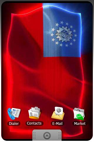 BURMA LIVE FLAG Android Themes