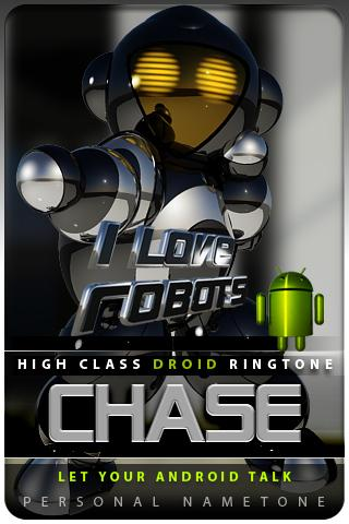 CHASE nametone droid Android Entertainment