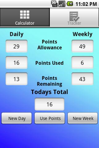 Ww Point Calculator Android Health Fitness