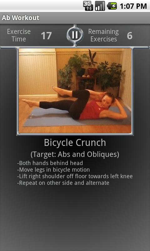 Daily Ab Workout FREE Android Health