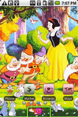 Snow White Android Personalization