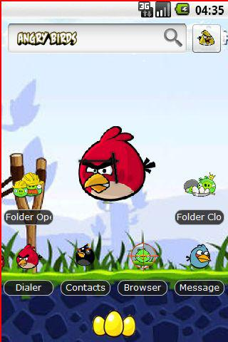 angry birds hd theme 3d android themes best android apps free download
