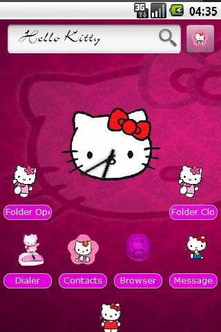 Hello Kitty HD Theme Android Themes