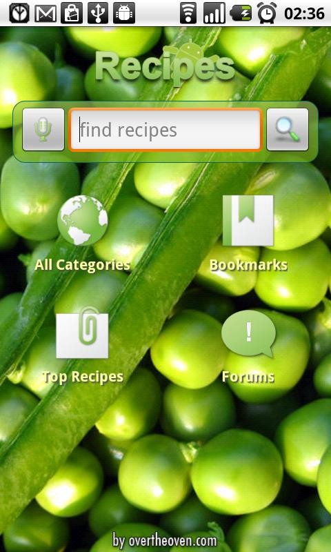 Recipes Android Health & Fitness