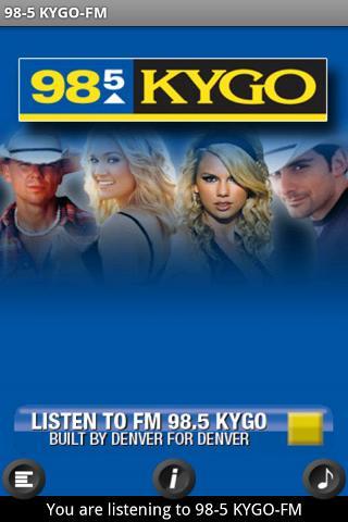 98-5 KYGO Android Entertainment